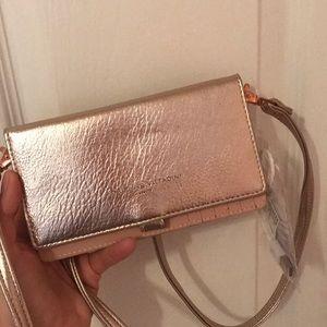brand new metallic purse